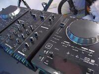 Pioneer CDJ 350 x2, DJM 350 x1 & flightcase