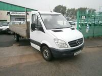 Mercedes-Benz Sprinter 313cdi 13ft Dropside 130ps DIESEL MANUAL WHITE (2013)