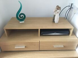 2 Drawer Unit / TV Stand, excellent condition