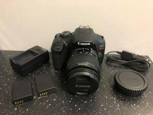 Canon EOS Rebel T6 w/18-55mm Lens