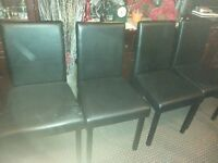 4 Chairs VERY GOOD CONDITION,