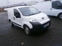 Peugeot Bipper 1.3 HDI 70bhp Van DIESEL MANUAL WHITE (2013)