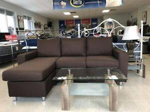 BLACK FRIDAY SALE  Brand new Reversible sectional sofa On