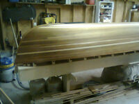 Price reduction! Cedar strip canoe molds for square back canoe