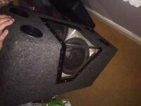 JBL 1000w Subwoofer Box