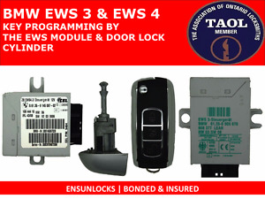 KEY PROGRAMMING FOR BMW BY THE EWS3 & EWS4 MODULES MAILED TO US