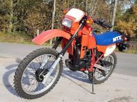 Fully Restored 1983 Honda MTX 125 RWD in Flash Red (R119) Two Stroke