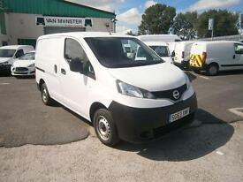 Nissan Nv200 1.5dci SE 89ps Van DIESEL MANUAL WHITE (2013)