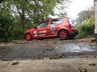 Renault Clio 182 track car, Inferno Orange