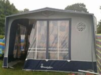 Isabella Magnum Moonlight Awning with Carbon X Poles