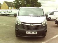 Vauxhall Vivaro 2900 2.0 CDTI 115PS DIESEL MANUAL WHITE (2015)