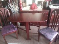Beautiful set ..TABLE and 2 CHAIRS, LIKE NEW,