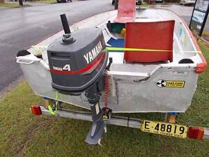 12ft Tinny 4hp Yamaha Coffs Harbour Coffs Harbour City Preview