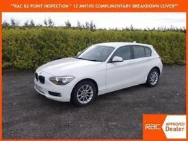 2013 BMW 114 1.6TD ( s/s ) Sports Hatch DIESEL ONLY 31,000 MILES WHITE 1 series