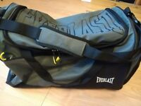 Everlast grey/black sports holdall