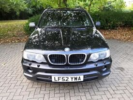 BMW X5 3 litre Petrol 5 Speed Manual. MOT till May 2019