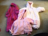 Various 0-3m baby girl clothes