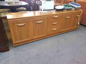 Large Three Drawer Sideboard