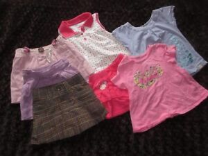 Girl's Summer Clothing, Size 1-2
