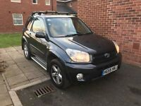 2005 (55) Toyota RAV4 XT-R VVT-i with lots of extras factory fitted