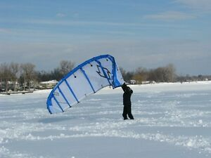 North Rhino 7m Snowkite kiteboarding kit