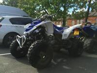 Yamaha raptor 660cc 660 road legal quad bike not 700cc
