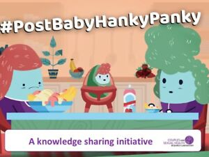 New parents: have you seen the #PostBabyHankyPanky videos yet?