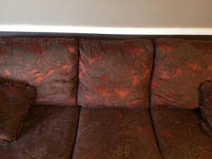 Couch & matching oversized Chair, need gone ASAP!! $150.00 O.B.O