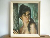 50s 60s J H LYNCH TINA Mid Century Retro Vintage Print Picture
