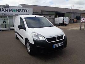 Peugeot Partner 850 1.6 Bluehdi 100 Professional Van DIESEL MANUAL WHITE (2016)