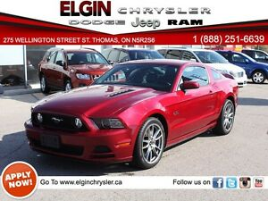 2014 Ford Mustang GT***Low Kms,One Owner,Leather***