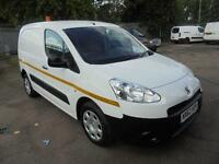 Peugeot Partner L1 850 S 1.6 Hdi 92 Van SLD DIESEL MANUAL WHITE (2013)