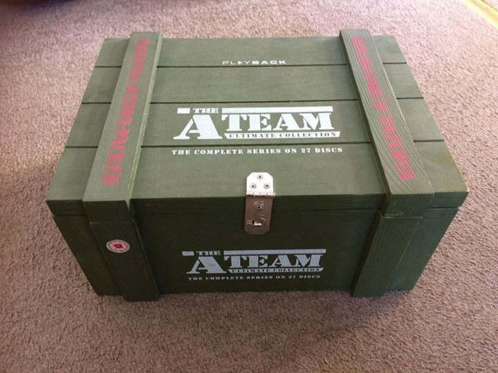 The A Team Dvd Box Set 27 Discs In Exeter Devon Gumtree
