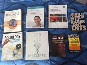 SELLING TEXTBOOKS- ADMS 1000, ADMS 3400, ADMS 2400, ETC..