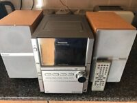 5 cd changer/ radio/ cassette player with remote