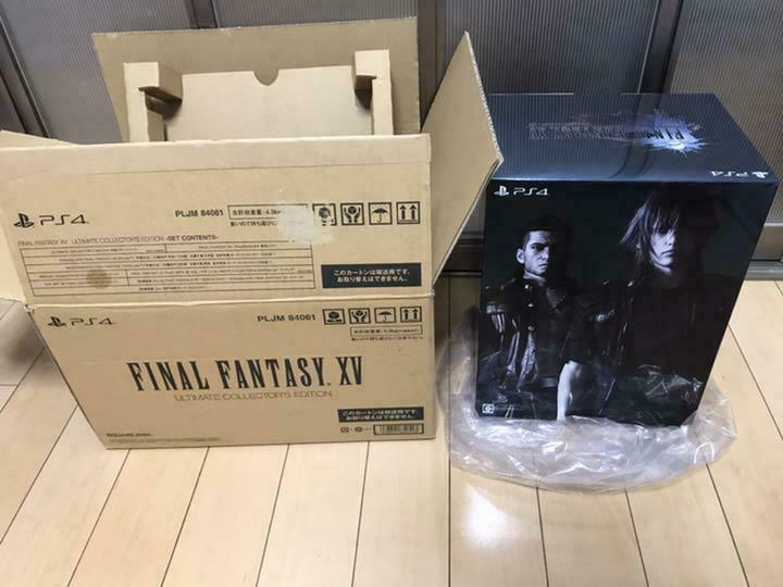 Sony+PS4+FF15+Limited+Edition+Ultimate+Collector%27s+Edition