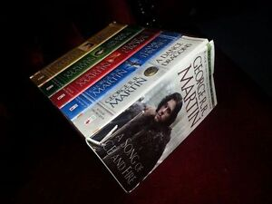 Game of Thrones 5 book set
