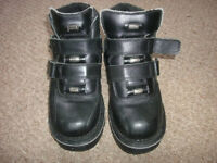 great condition mens goth/rock boots by rocks cost over £100 see pictures