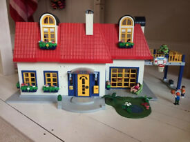 Playmobile house and furniture