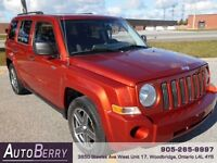 2008 Jeep Patriot Sport North ** Certified & E-Tested *** $6,499