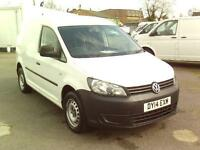 Volkswagen Caddy C20 1.6TDI 75PS STARTLINE VAN DIESEL MANUAL WHITE (2014)