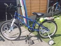 Kids bike hardly used mint condition