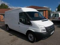 Ford Transit Medium Roof Van Tdci 100Ps Euro 5 DIESEL MANUAL WHITE (2014)
