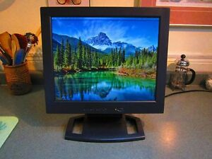 17-inch external LCD computer monitor