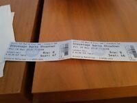 Stevenage darts showdown VIP table tickets x2