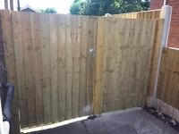D. Shaw fencing and gates