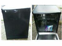 Beko Black Dishwasher - Can Deliver