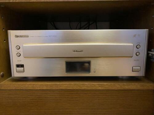 Pioneer LD HLD-1000 Hi Vision Muse Laserdisc Player  Tested