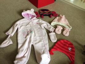 6-9 and 6-12months girls items