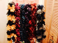 New - Handmade Ruffle Scarves